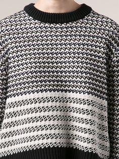 Proenza Schouler Striped Pullover Sweater - Forty Five Ten - Farfetch.com