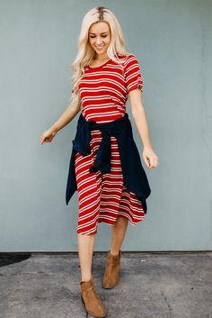 The Carlee Swing Dress | 4 Colors