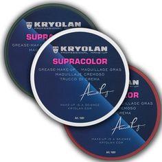 Supracolor, maquillaje de consistencia cremosade la marca Kryolan en presentación de 0.25 oz.- 8 ml.