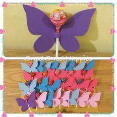 Farfalle di chupachups