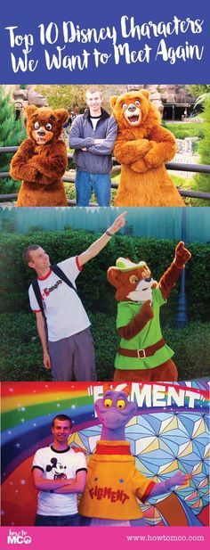 Top 10 Characters We Want to Meet Again at Disney Request a quote for your next vacation from Destinations in Florida at  http://destinationsinflorida.com/pinterest