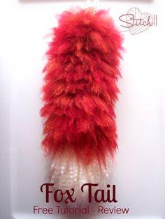 Fox Tail - Free Tutorial Review on Stitch11.com