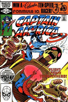 Captain America # 266 by Mike Zeck