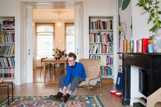 We pay a visit to artist Jordy van den Nieuwendijk and his pup Bell at their home and studio in The Hague.