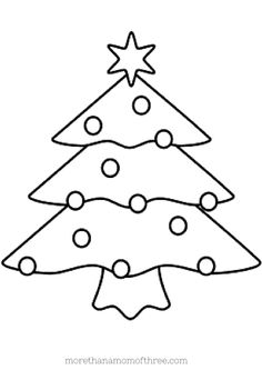 Now how cute is that? I'll have to print some out for the kids. Christmas Tree Coloring Pages for kids