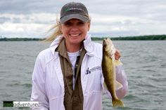 I caught my first fish with McQuoid's Inn on Lake Mille Lacs