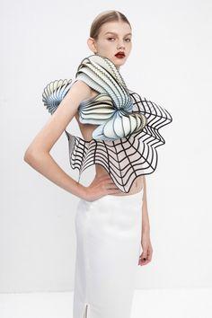 ref for wearable art. Israeli fashion designer Noa Raviv, from designmilk.