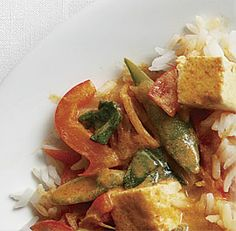 Thai Red Curry with Tofu & Vegetables. I'm planning to make this for ...