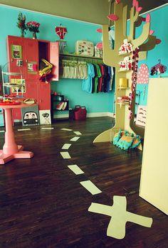 Cool kid's room!
