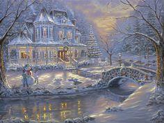 Frosty eve