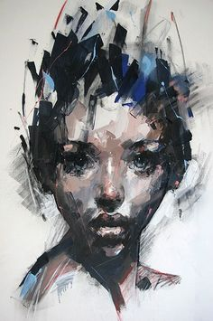 South Africa Artist Ryan Hewett (1979) | Mixed medium on CANVAS...170x140cm