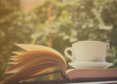 a cup of tea and a great book! xx