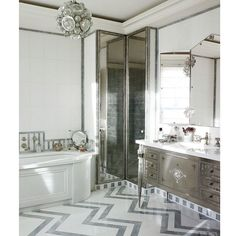 The inspiration for my next project... Hollywood Regency keeps getting better. xR . Design by @jacques.grange via @archdigest #modernclassic #bathroomdecor #bathroomdesign #glamdecor #inspire #inspiration #luxe #luxurystyle #luxurydecor #insta_israel #interior #interiordesign #interiordesigner #moderndesign #homedesign #homestyle #instastyle #homefashion #homeaccents #interiordetails #rinatlaviinteriors #interiorlove