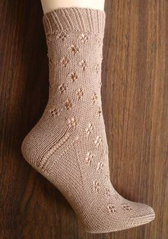 Beaded Eyelet Cuff Socks in Crystal Palace Yarns Panda Silk Solids. Discover more Patterns by Crystal Palace at LoveKnitting. We stock patterns, yarn, needles and books from all of your favorite brands. Silk Socks, Lace Socks, Crochet Socks, Knitted Slippers, Knitting Socks, Hand Knitting, Knit Crochet, Patterned Socks, Striped Socks