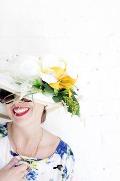 MY DIY | Flower Derby Hat