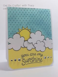 Owl Be Craftin': You Are My Sunshine with Lawn Fawn