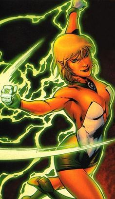 Arisia, my other favorite of the Green Lantern Corps.