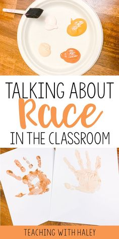 Talking About Race in the Classroom using the books The Colors of Us and Chocolate Me | how to talk to kids about diversity, how to teach kids about race and racism, teaching race to kids, books about race, books about diversity, talking to kids about race, first grade character education, elementary character education