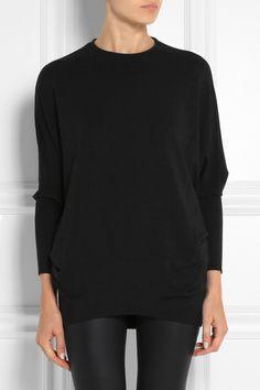 Helmut Lang Oversized stretch-jersey sweatshirt NET-A-PORTER.COM