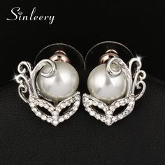Unique Imitated Pearl Clip Earrings No Hole Without Piercing for Women //Price: $9.49 & FREE Shipping //     #shoppingtime