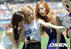 Taenysun at LA dodgers stadium