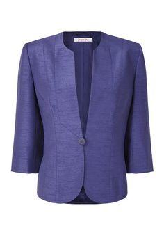 Viola Shimmer Shantung Jacket