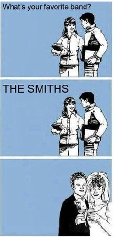 For the love of The Smiths