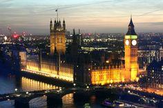 Big Ben através da London Eye