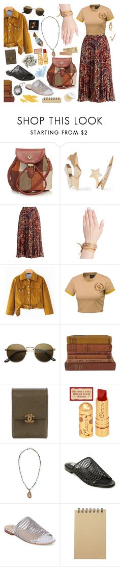 """???"" by shudenbaun ❤ liked on Polyvore featuring Ollie & Nic, Chloé, Haute Hippie, Puma, ZeroUV, Vintage Collection, Chanel, Hipchik, Steve Madden and Darphin"