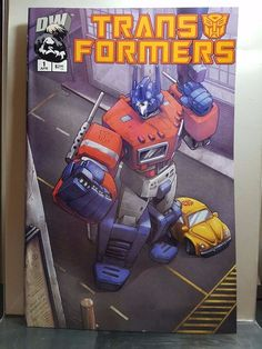 TRANSFORMERS G1 #1 RETAILER INCENTIVE 2nd Printing! ULTRA RARE! Dreamwave