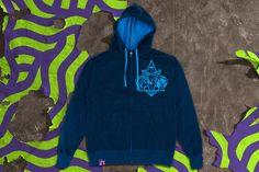 TooTwoBlue VANDALrgz Hoodie   VANDALrgz   Online Store  Merchandise  #VANDALrgz #bikepolo #lifestyle #streetwear