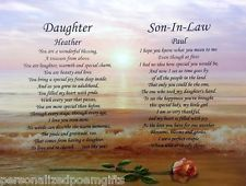 Beautiful poem for your daughter and son in law on their wedding