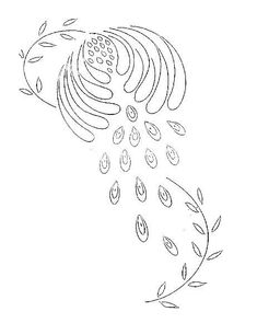Broderie D'Antan: Embroidery Patterns (6 designs)