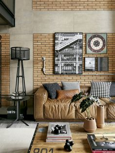 Baby Room Decor: 75 Ideas with Photos and Designs - Home Fashion Trend Industrial Style Kitchen, Industrial Interior Design, Industrial Interiors, Decor Interior Design, Industrial Bedroom, Industrial Living, Industrial Lamps, Industrial Furniture, Industrial Office