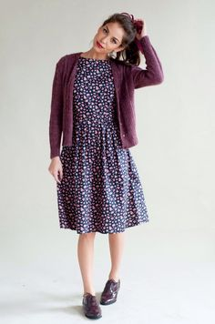 Handmade floral dress by Plum and Pigeon, £50