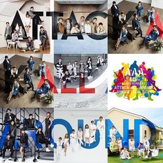 Japanese Pop Group ~ Attack All Around <3