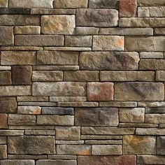 Norstone Ochre Blend Stacked Stone Veneer for Feature Walls