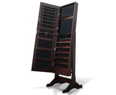 Do you love fashion but running out of storage space for your jewelleries? Like all other ladies, we just love shopping for great jewelleries to match with our outfits for different occasions.  http://www.rosaelonline.com.au/product/mirror-jewellery-cabinet-box-full-length-wooden-walnut/