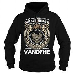 Awesome Tee VANDYNE Last Name, Surname TShirt v1 T shirts