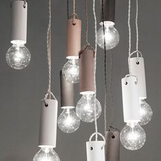 Designstuff offers a wide range of Scandinavian home decor including tied pendant lights from Menu designed by Norm Architects.