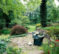 better homes gardens | How to Install Flagstone for a Patio