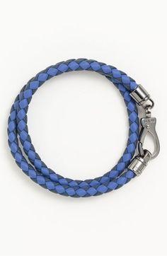 Tod's Braided Leather Bracelet