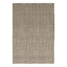 DwellStudio Herringbone Jute Grey Rug | DwellStudio