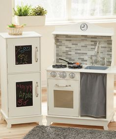 Look At This Teamson Design Sunday Brunch Wooden Play Kitchen Set On  #zulily Today!