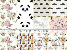 Walls: UXEV Walls by Pralinesims from The Sims Resource The Sims 4 Pc, Sims 4 Mm Cc, Sims 1, Mods Sims, Sims 4 Game Mods, Sims 4 Cc Furniture Living Rooms, 4 Wallpaper, Sims 4 Dresses, Game