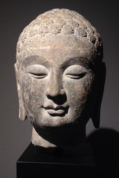 Head of a Buddha from the Northern Qi Dynasty (550-577)- The Curator's Eye