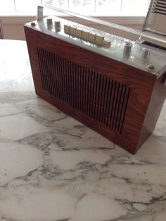 Bang Olufsen B O Beolit 800 Teak Case Radio RARE   eBay