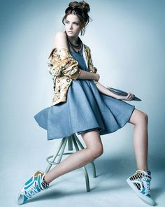 Image result for fashion editorial studio fan