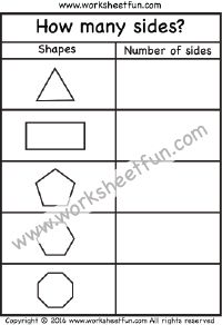 How many sides? – Polygons – Triangle, Rectangle, Pentagon ...