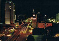 Jameson Avenue, Salisbury, Rhodesia (1961) Now Harare, Zimbabwe.